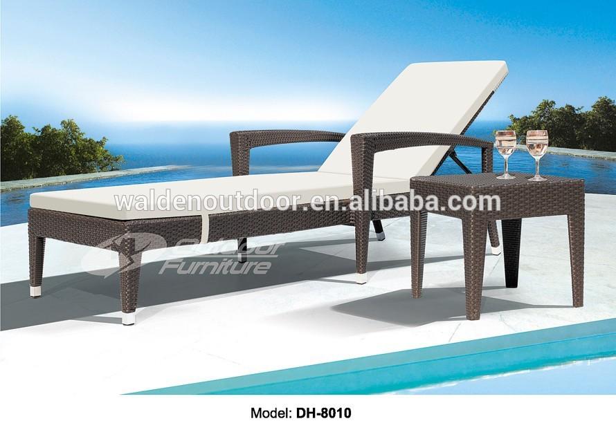 Ikea Meubles De Jardin En Rotin Exterieur Chaise Longue Dh 8010