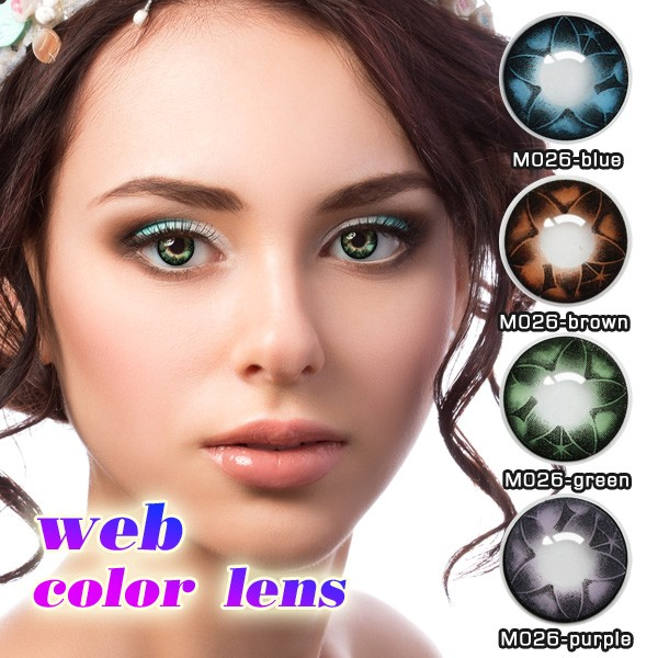 c44ae3d732 Pink Flower Eye Color Contact Lens, Pink Flower Eye Color Contact Lens  Suppliers and Manufacturers at Alibaba.com