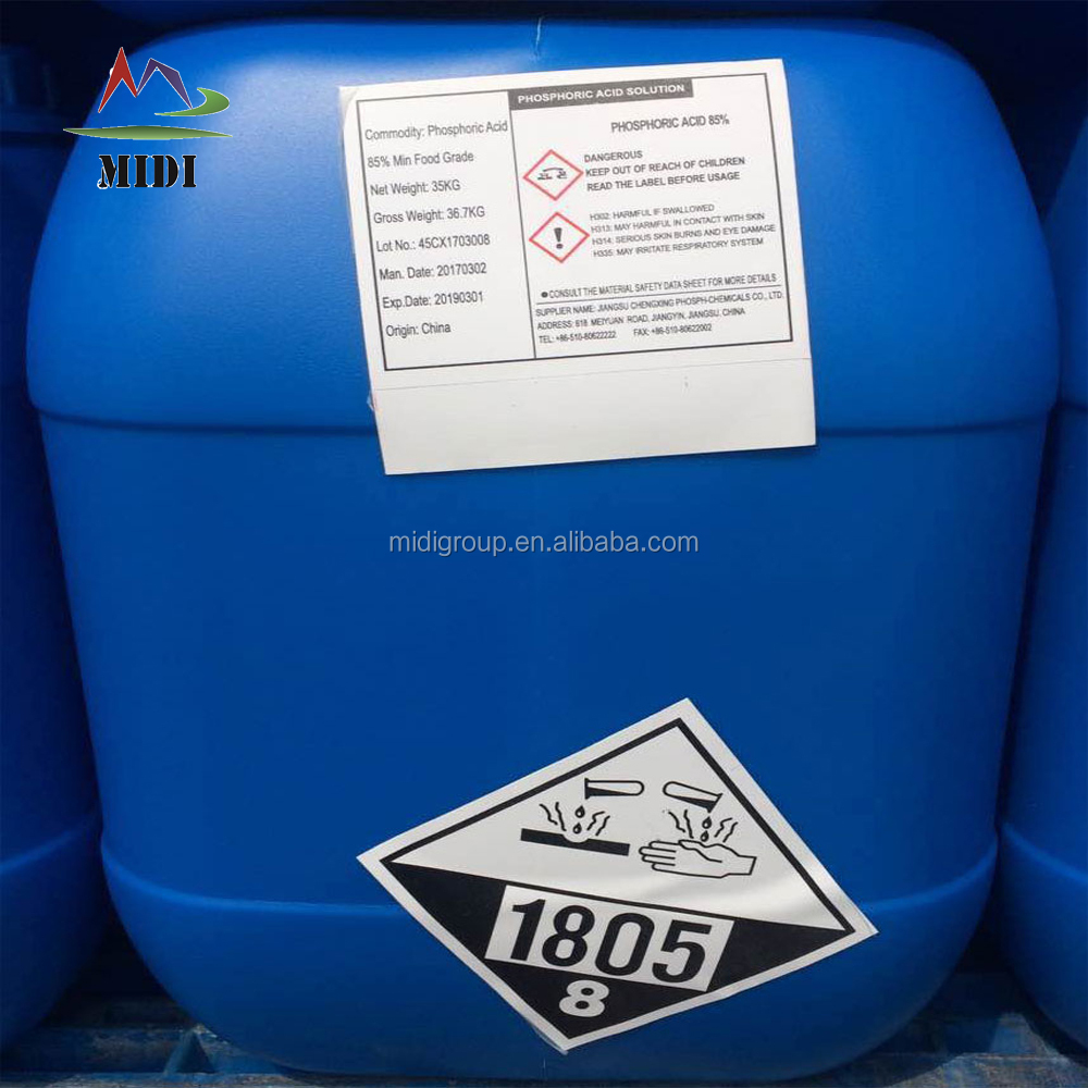 Phosphoric Acid 85% Fertilizer / Agricultural Grade