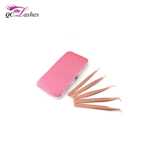 Stainless Steel Private Label Wholesale Eyelash Extension Tweezers
