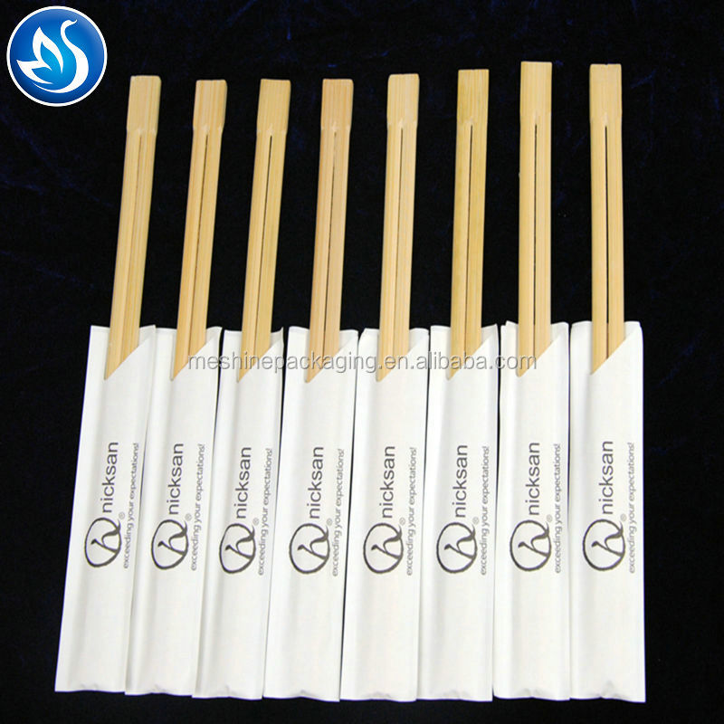 Custom Eco-Friendly Disposable Chinese Personalized Natural Bamboo/Wooden Chopsticks