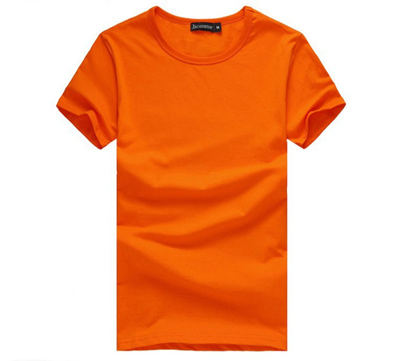Cheap 180 gsm blank/plain t-shirt wholesale from Guangzhou