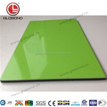 GLOBOND Solid Color Aluminium Composite Panel/ ACP Material for Outdoor Design