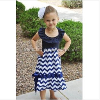 Baru Tiba Gaya Busana Pesta Anak Anak Memakai Chevron Maxi Dress
