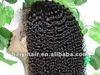 Malaysian curly hair lace wig