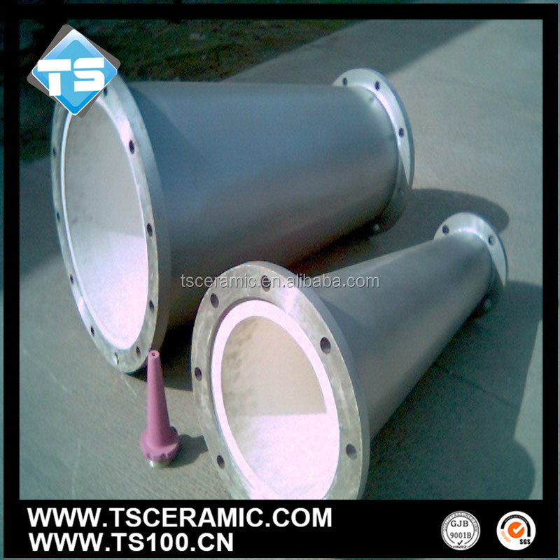 Anti-Corrosion Alumina Ceramic Lining Composite Steel Pipe,China Manufacturer