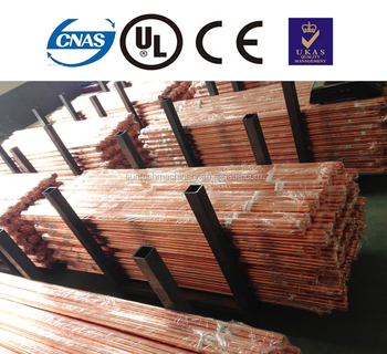 Customized Lightning Protection System Copper Clad Steel Ground Earth Rod -  Buy Copper Plated Steel Ground Rod,Stainless Steel Rods,Steel Rod 2mm