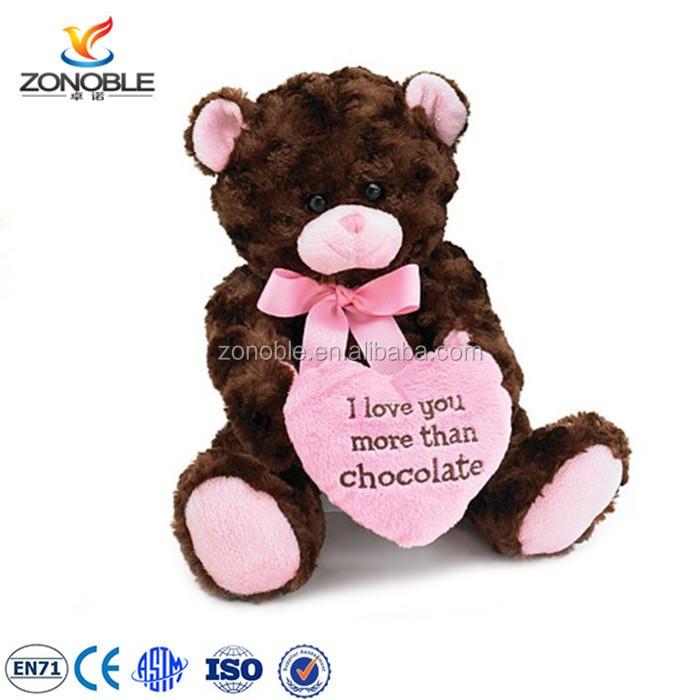 Meet En71 Standard Valentine Plush Animals With Red Heart Wholesale Cute  Soft Stuffed Plush Valentine Day