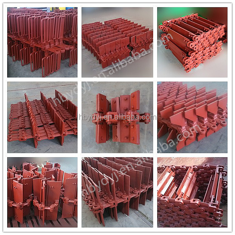 Widely used Wear- Resistant Alloy Steel Drop Forged scraper conveyor chain