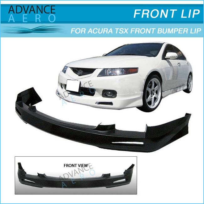 For Acura Tsx Jdm Urethane Front Bumper Lip Spoiler Body Kits - Acura tsx front lip