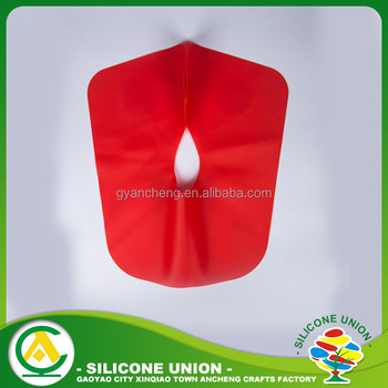 China manufacture silicone apron for haircut