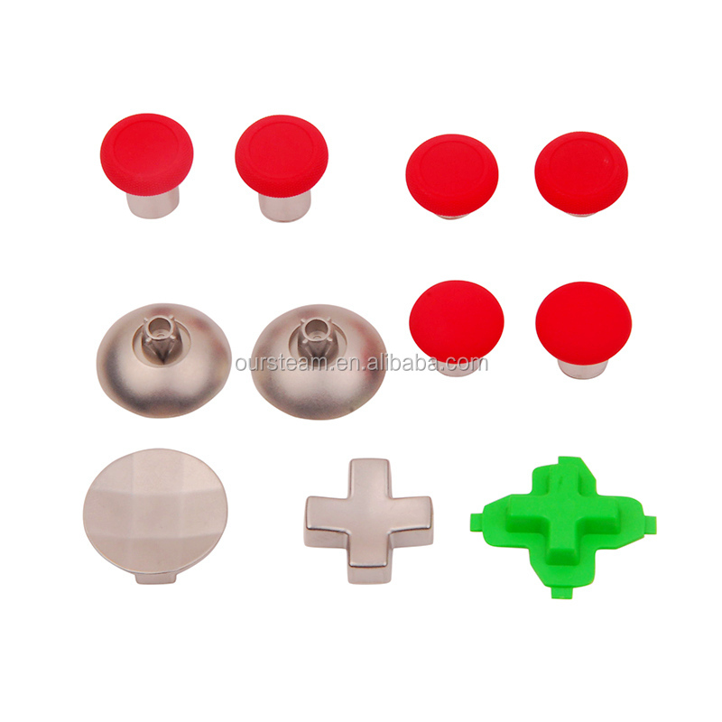 Color Optional Adjustable Metal Replacement Set Controller Thumbstick Rocker for Xbox One Elite