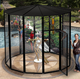 "8' x 72"" Large Double Bird Cage"