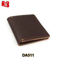 Custom High Quality Genuine Leather Business Portfolio Folder
