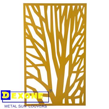 Metal Laser Cut Panels Aluminum Wall Art Panels Architectural Metal ...