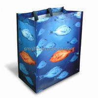 top sale recycled new pp non-woven reverse trapezoid bag