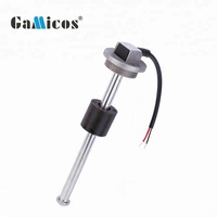 GLTV3 GPS tracking fuel water float level sensor for for truck ,generators ,gen set ,bus ,marine