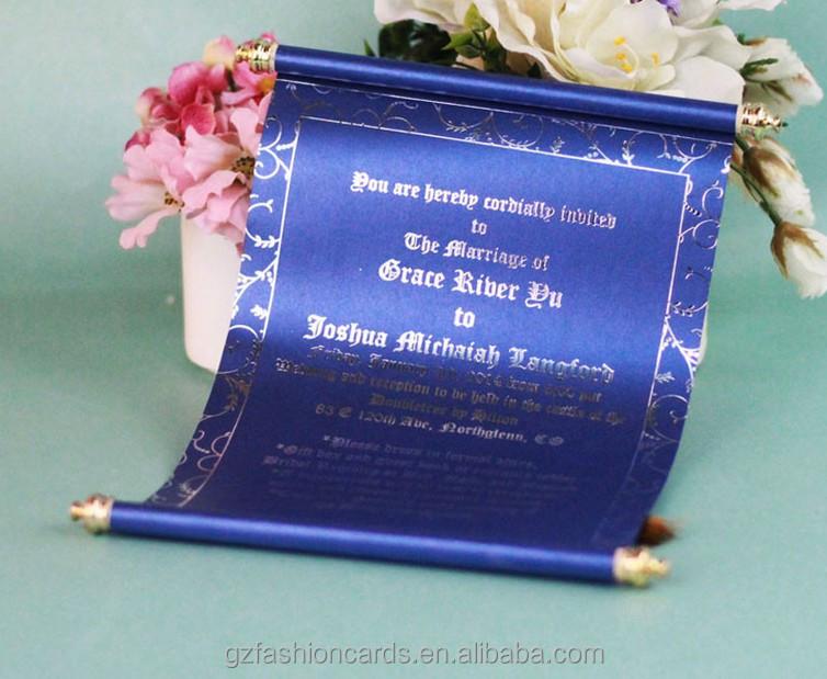 Personnaliser Bleu Royal Chinois Carte Dinvitation De Mariage Buy Carte Dinvitation De Mariagecarte Dinvitation De Mariage De Défilementcarte