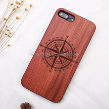 Mobile phone accessories,real wooden+pc phone case for Iphone 6/6s