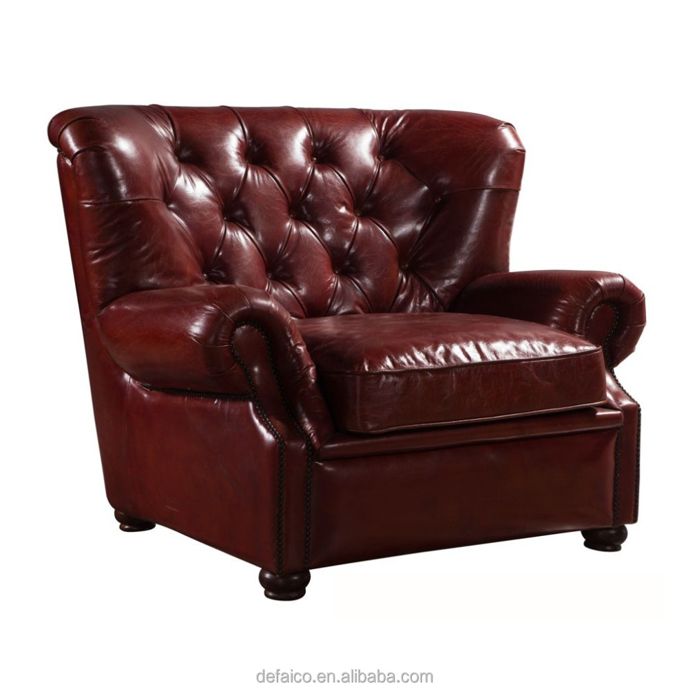 Rode Leren Chesterfield Bank.Amerikaanse Stijl Rode Chesterfield Lederen Sofa Set Buy