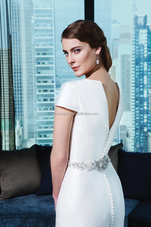 Pretty Short Satin Wedding Dresses Ideas - Wedding Dress Ideas ...