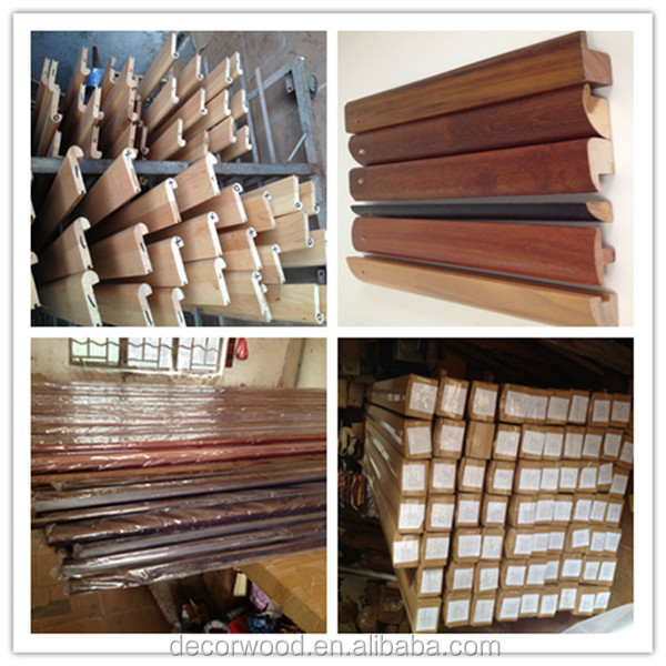 Brazilian Cherry Stair Nosing Molding Wood Decorative Furniture Moulding
