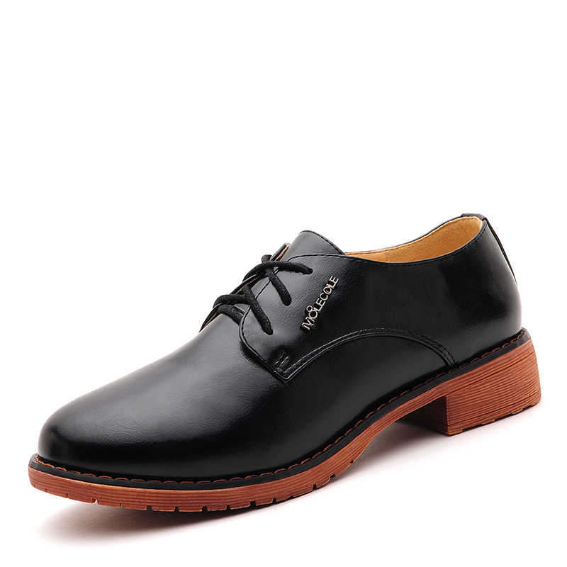 cf84794fe5 Get Quotations · 2015 Autumn New Oxford Shoes For Women Genuine Leather  Vintage brand designer Lace-up Casual