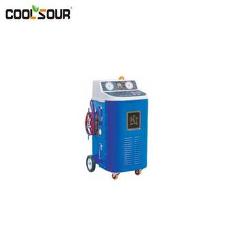 COOLSOUR A/C Service Station / Full Automatic Refrigerant Recovery Machine for Heavy