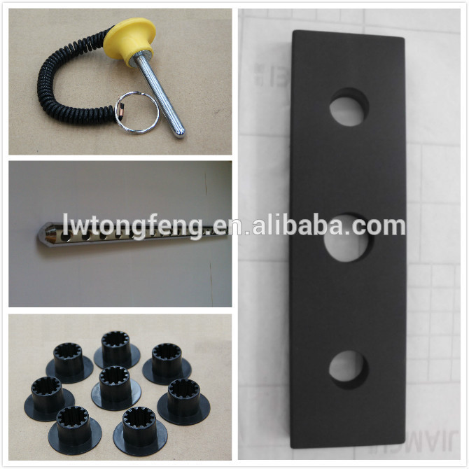 weight stack plastic cover / commercial gym equipment parts