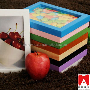 Colourful Plastic Picture Frame 4x6 5x7 6x8 8x10 trophy wholesale