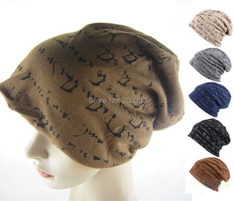 be743832132 Get Quotations · 1Pcs Mens Womens New Fashion Hip-Hop Warm Winter Cotton  Polyester Knit Ski Beanie Skull