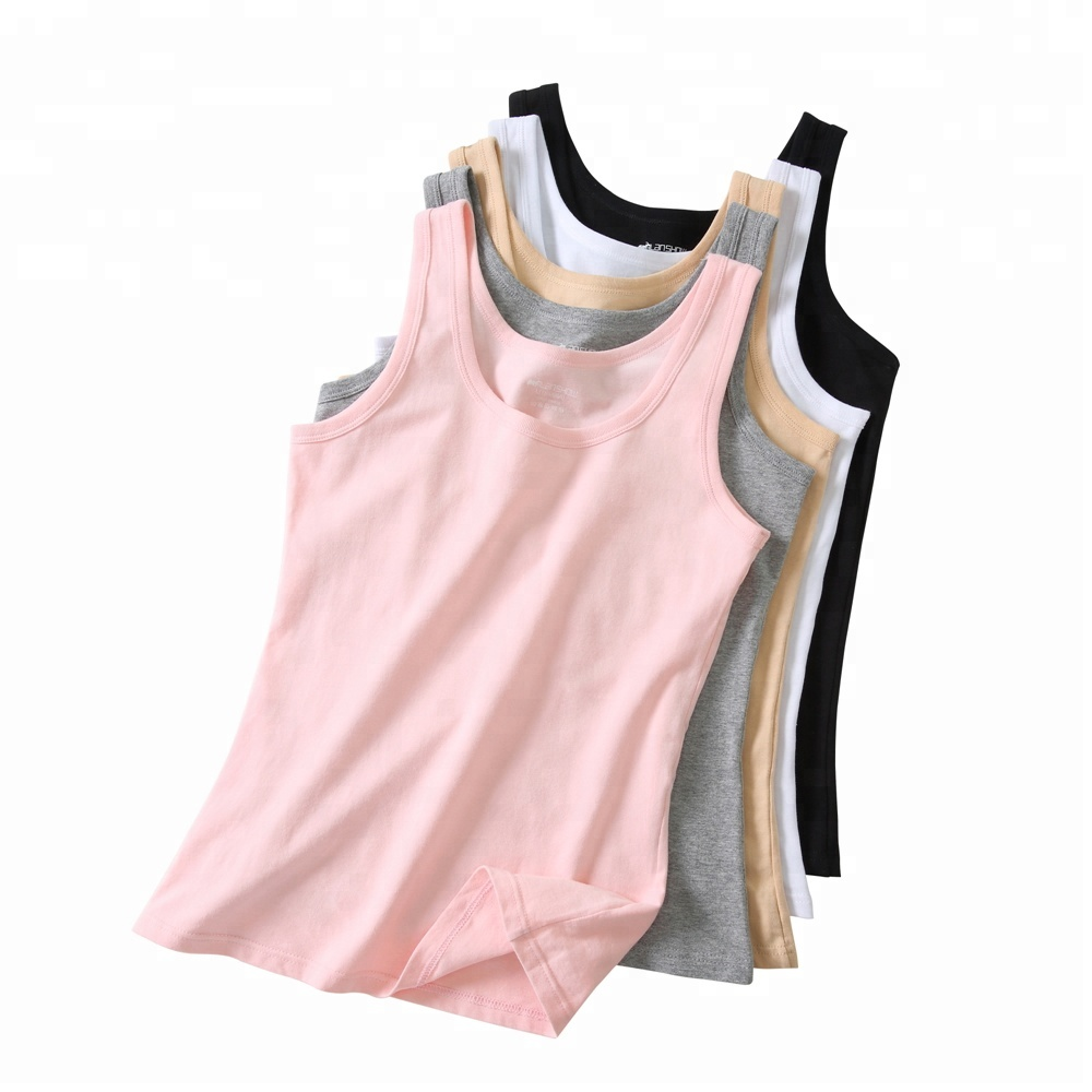Custom high quality lycra breathable cotton <strong>women</strong> blank <strong>tank</strong> <strong>top</strong>