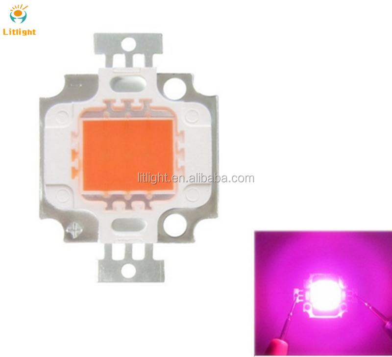 10pcs 3535 High Power LED Chip 660nm Deep Red LED Grow Light 440nm 380nm-840nm