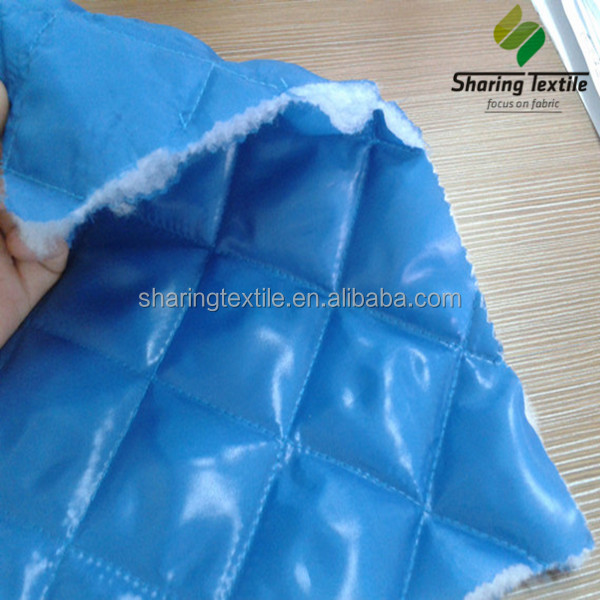Quilted fabric/Polyester quilted fabric/Quilted jacket fabric