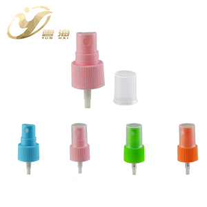 Wholesale free samples colorful plastic fine mist sprayer