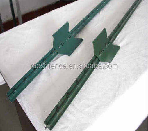 Metal Used Electric Fence T Post Wholesale Green Painted