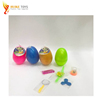 2018 popular funny toy best selling candy toy plastic shell in a big egg