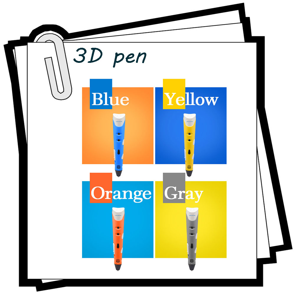 3D digital Printer Pen 3d drawing Filament Arts Printer 3D Printing Pens