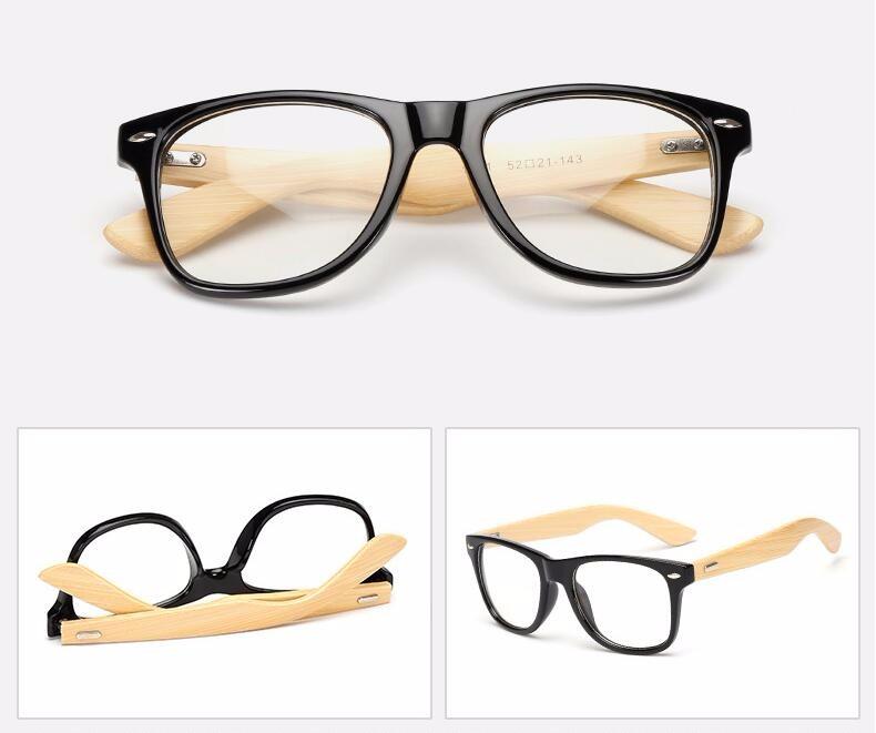 Wholesale Hot Selling Plastic Frames Bamboo Wood Sunglasses