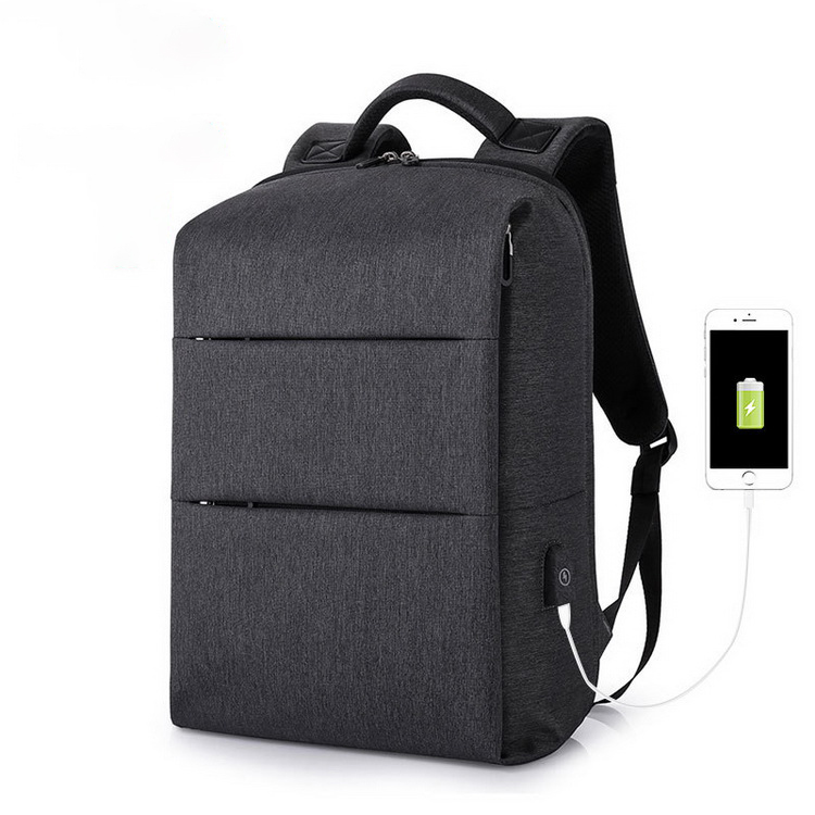 Wholesale Business Studernt Anti theft Laptop Backpack Bag With USB Port