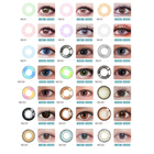 Wholesale Custom High Quality 1 Year contact lenses brands of contact lenses