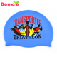 Printing Colorful Funny Cartoon Silicone Protection Ear Swim Cap Hat