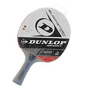 Dunlop Blackstorm Power Table Tennis Bat Concave Handle ITTF Fun Play