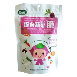 Excellent high quality composite vegetable crispy snacks with protein