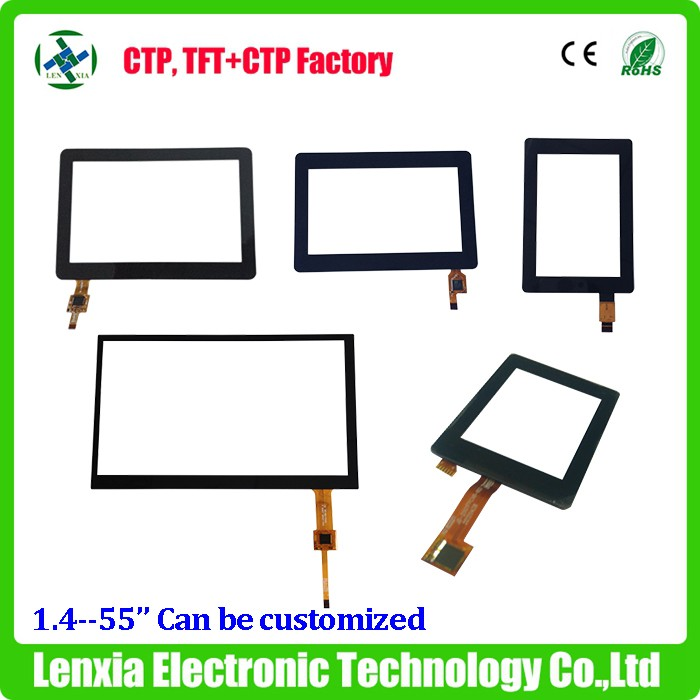 Replacement 3.5'', 4.3'', 5'', 7'', 10.1'' , 13.3'',15'' capacitive touchscreen for smart home