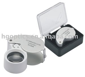 led magnifier/Jewelry magnifer/large magnifying glass