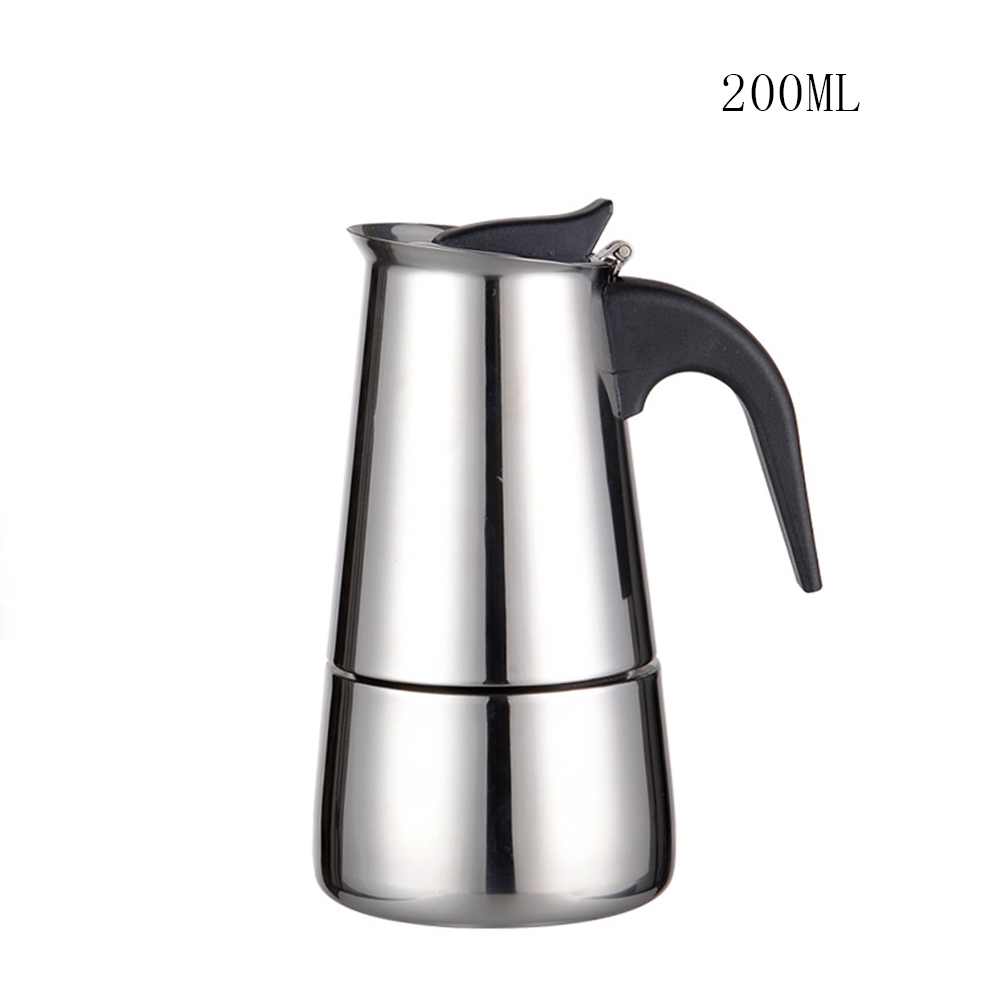 Портативный Эспрессо кофеварка горшок из нержавеющей стали кофе пивоварня чайник для Pro Barista TB продажа(Китай)
