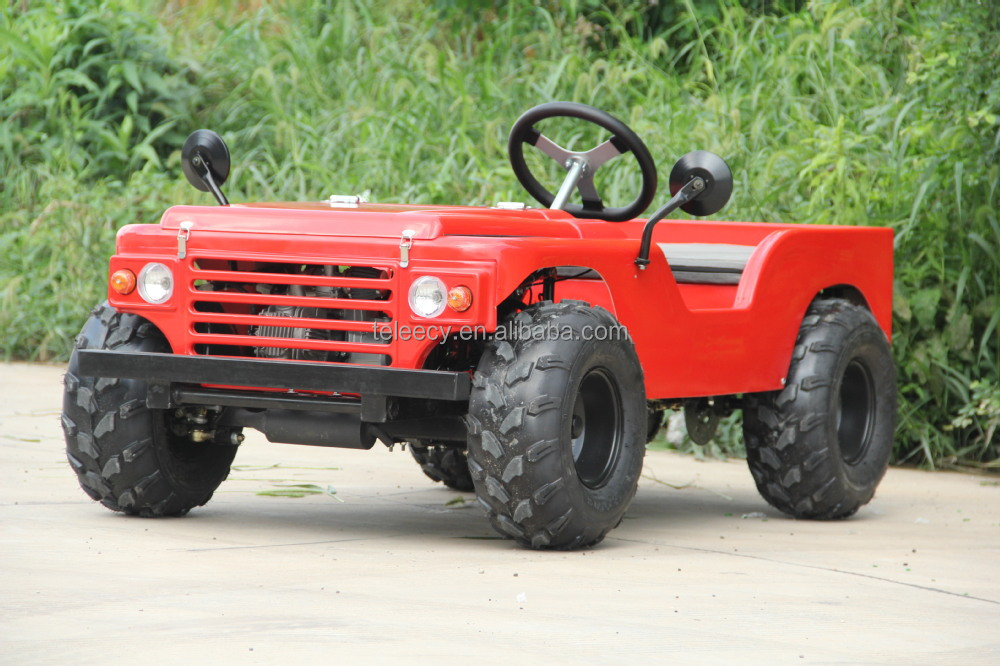 Made in China Wholesale 150cc mini gas jeep for kids