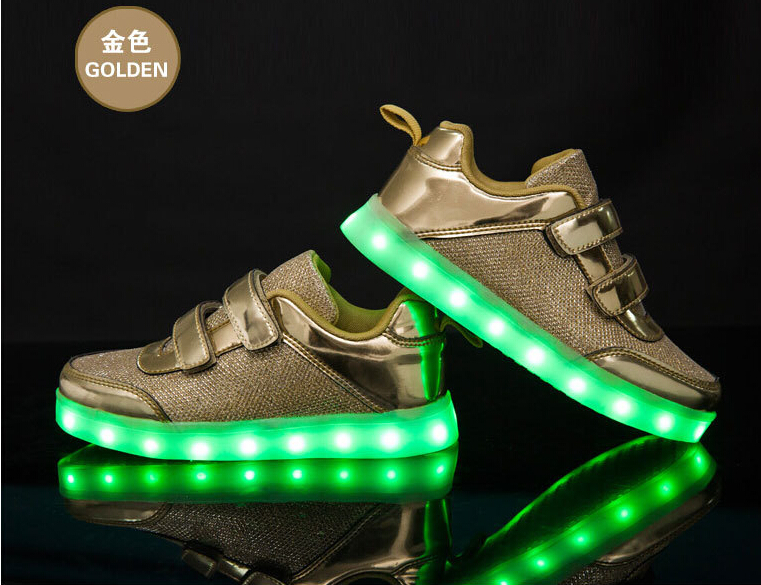 Hot Sale High Quality Child Led Light Running Shoes Led Light Shoes For Kids
