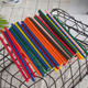 Wholesale Multi Color solid Paper Drinking Straws Wedding Birthday Party